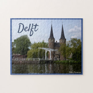 Delft Gate (Oostpoort) with text ジグソーパズル