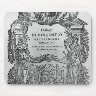 「Della Musica Anticaとdella Modernaのページ マウスパッド