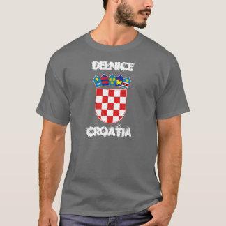 Delnice、紋章付き外衣が付いているクロアチア Tシャツ