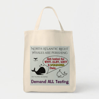 Demand ALL Testing for Whales by RoseWrites トートバッグ