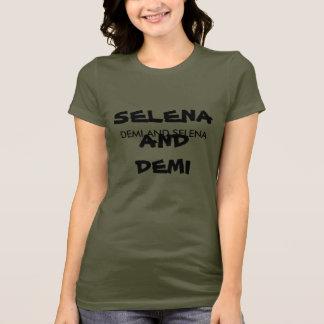 DEMIおよびSELENA Tシャツ