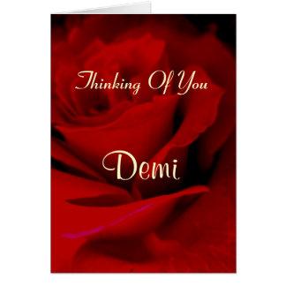 Demi カード