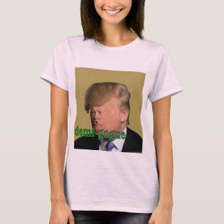 Demi-gogu対femi-gogue Tシャツ