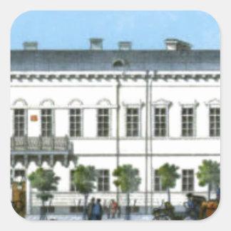 Demidovのホテル。 「Nevskyのパノラマの片 スクエアシール
