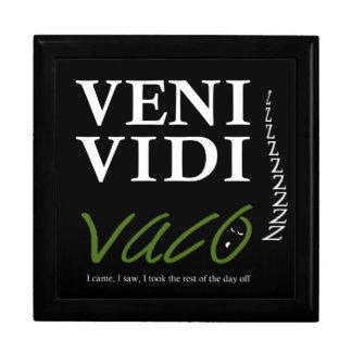 Demotivational Veni、Vidi、Vaco VVVX ギフトボックス