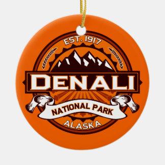Denaliのカボチャ セラミックオーナメント