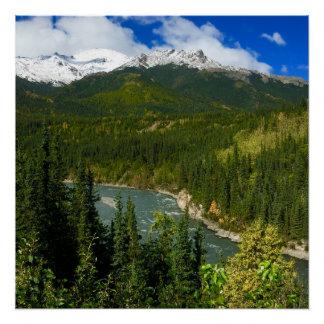 Denaliの国立公園ポスター ポスター