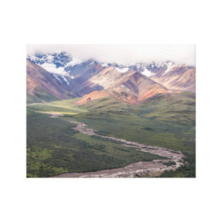 Denaliの国立公園-アラスカ|のキャンバスのプリント キャンバスプリント