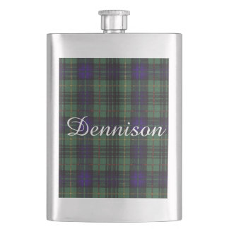 Dennisonの一族の格子縞のスコットランドのキルトのタータンチェック フラスク
