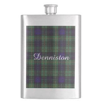 Dennistonの一族の格子縞のスコットランドのキルトのタータンチェック フラスク
