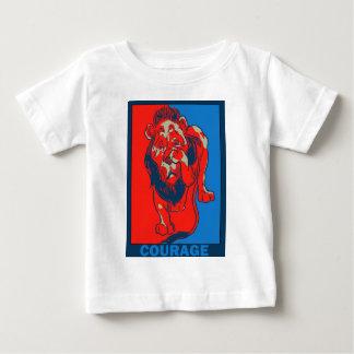 Denslowのオズの魔法使い:: 勇気 ベビーTシャツ