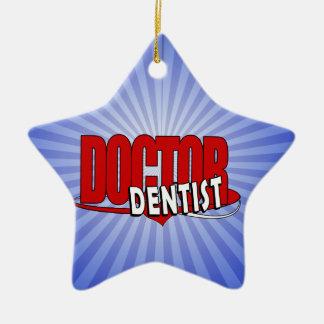 DENTISTロゴの博士 セラミックオーナメント