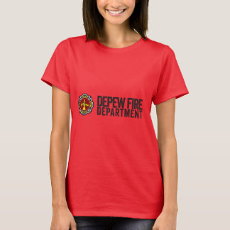 Depewニューヨークの消防署 Tシャツ