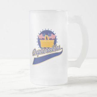 Deplorablesのチームロゴ フロストグラスビールジョッキ