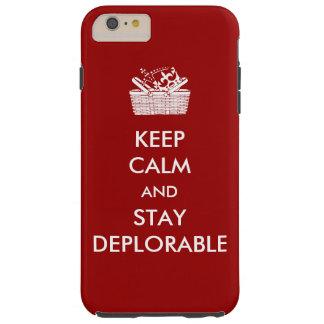 DeplorablesのiPhoneの場合 Tough iPhone 6 Plus ケース