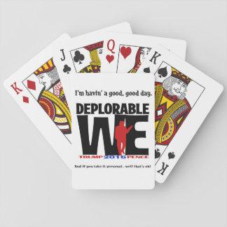Deplorablesはカードにあります! トランプ