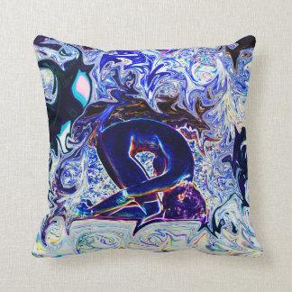 Deprise著紫色のウサギのヨガの姿勢の枕 クッション