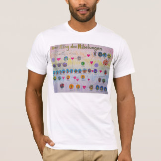 Derのリングdes Nibelungenの系譜のTシャツ Tシャツ