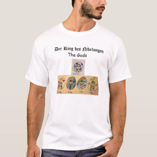 Derのリングdes Nibelungen: 神 Tシャツ