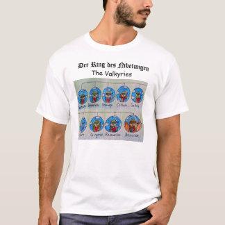 Derのリングdes Nibelungen: Valkyries Tシャツ