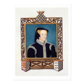 d'Eresbyカサリンの男爵夫人のWilloughbyポートレート ポストカード