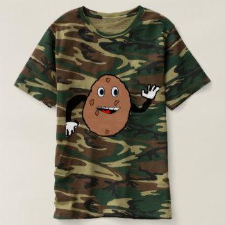derpyポテトの迷彩柄 tシャツ