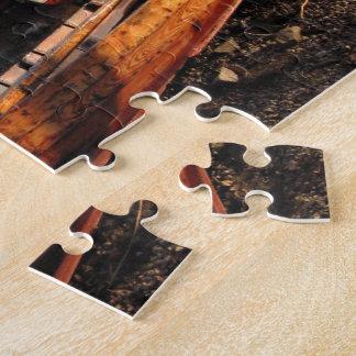Derwentwaterのジグソーパズルの海岸のボート ジグソーパズル