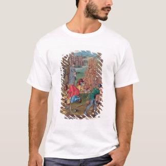 「Des Proprietez des Chosesからの仕事の抗夫、 Tシャツ