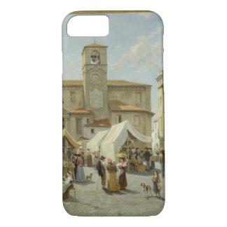Desanzano (キャンバスの油)のMarketday iPhone 8/7ケース