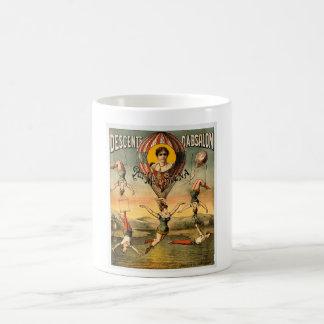 Descenteのd'Absalonの標準の失敗Stenaのヴィンテージのサーカス コーヒーマグカップ