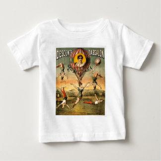 Descenteのd'Absalonの標準の失敗Stenaのヴィンテージのサーカス ベビーTシャツ