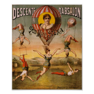 Descenteのd'Absalonの標準の失敗Stena ポスター
