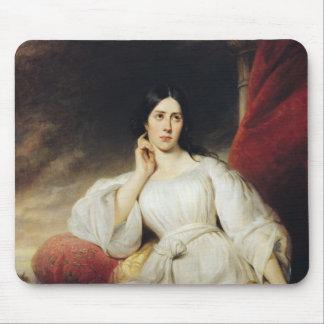 Desdemona 1830年の役割のMalibran夫人 マウスパッド