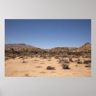 Desertscape ポスター
