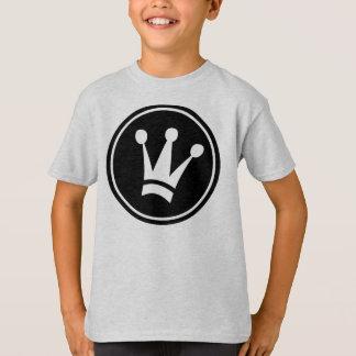 Design T-Shirt Kids Tagless王の心地よい Tシャツ