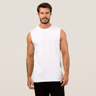Design Your Own Mens Sleeveless Shirt 袖なしシャツ