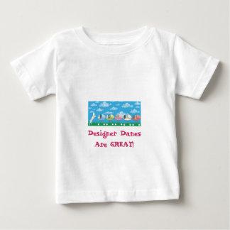 DesignerDanesRGreat ベビーTシャツ