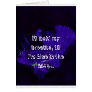 Desperation1、私は私がbl…であるまで、私呼吸します握ります カード