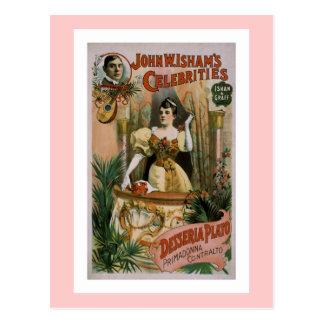 Desseriaプラトン-プリマドンナのContralto ポストカード