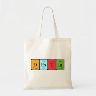 Destinの周期表の名前のトートバック トートバッグ