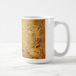 Destinの地図 コーヒーマグカップ