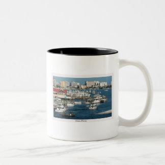 Destinフロリダのコーヒー・マグ ツートーンマグカップ