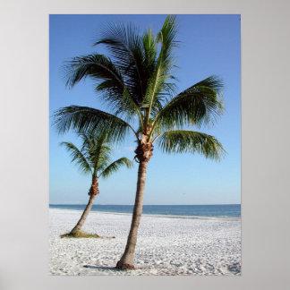 Destinフロリダのビーチ ポスター