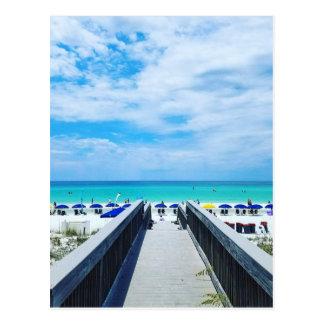 Destinフロリダのビーチ ポストカード