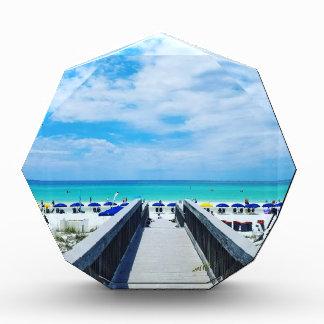 Destinフロリダのビーチ 表彰盾