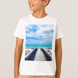 Destinフロリダのビーチ Tシャツ