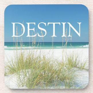Destinフロリダの海のオートムギコーヒー飲み物用コースター コースター
