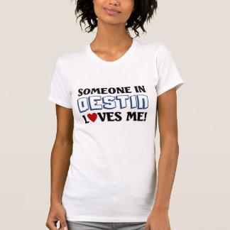 destin愛smeの誰か tシャツ