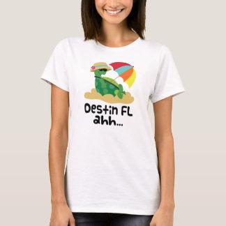 Destin (ビーチのカメ) tシャツ