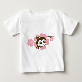 Destry Jannaの乳児のワイシャツ ベビーTシャツ